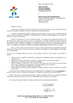 LSUN courrier ministre